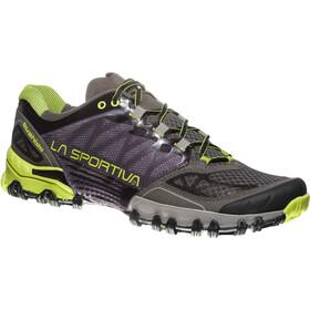 La Sportiva Bushido Shoes Herr carbon/apple green